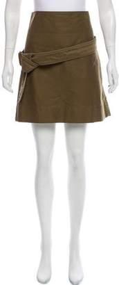 Celine A-Line Mini Skirt