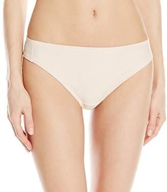 Carnival Womens Petite-Plus-Size Seamless Microfiber low-rise panty