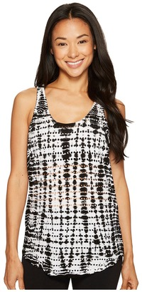 Hard Tail - Slouchy Racer Back Tank Top Women's Sleeveless $68 thestylecure.com