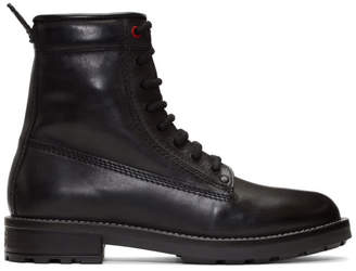 Diesel Black Trooper Boots
