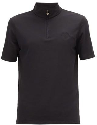 Iffley Road - Sidmouth Half Zip T Shirt - Mens - Black