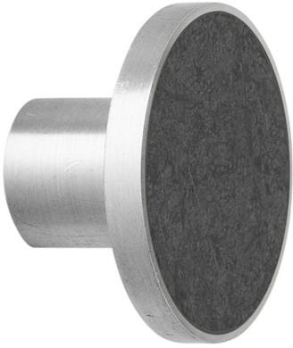 ferm LIVING Steel Wall Hook - Black Marble - Large