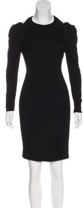Jason Wu Cutout-Accented Knee-Length Dress