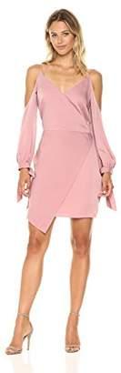 Adelyn Rae Women's Amelia Woven Cold Shoulder Sheath Dress