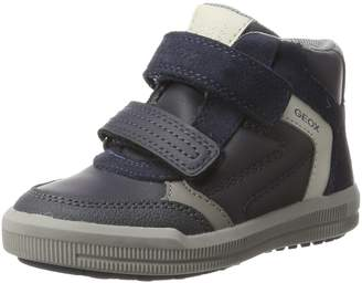 Geox Boy's J ARZACH B. B Sneakers, Navy/Grey
