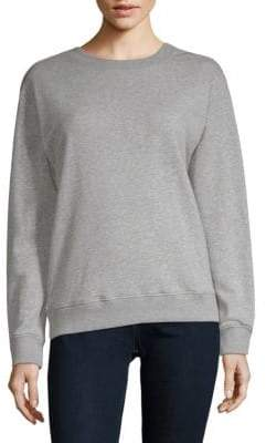 Saks Fifth Avenue Ruffled Long-Sleeve Sweatshirt
