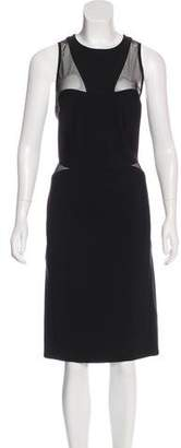 Thierry Mugler Sleeveless Midi Dress