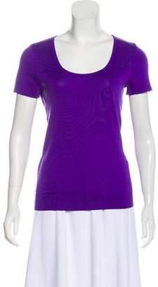 Ralph Lauren Scoop Neck Short Sleeve T-Shirt