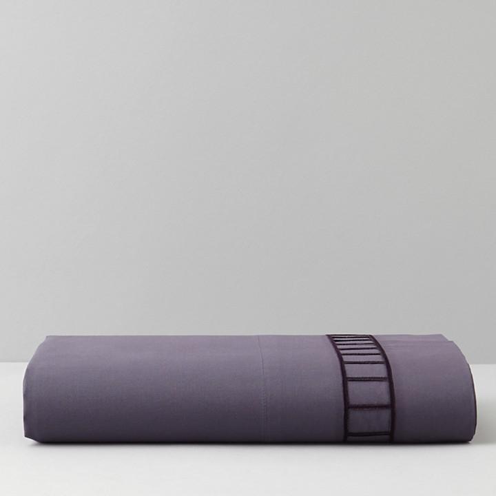 Vera Wang Violet Flat Sheet, King