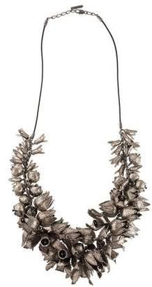 Burberry Tulip Collar Necklace