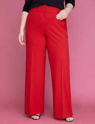 Lane Bryant Allie Tailored Stretch Wide Leg Pant
