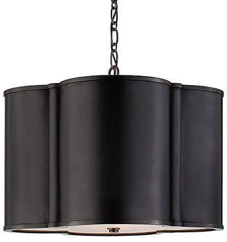 Visual Comfort & Co. Small Basil Hanging Shade - Gunmetal
