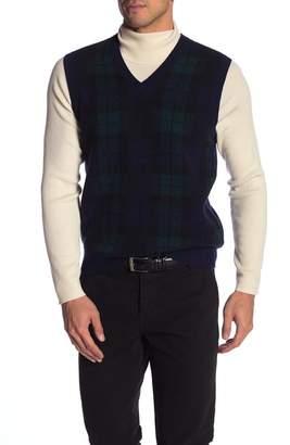 Brooks Brothers V-Neck Blackwatch Vest