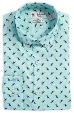 Original Penguin Slim-Fit Toucan Button-Collar Dress Shirt