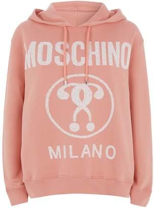 Moschino Question Mark Logo Hoodie