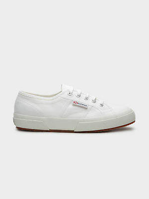 Superga New Unisex 2750 Cotu Classic Sneaker In White Canvas