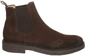 Seboy's Elasticated Side Ankle Boots