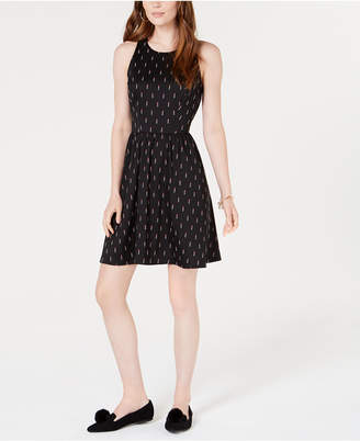 Maison Jules Sleeveless Fit & Flare Dress