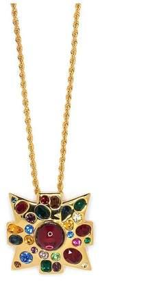 Kenneth Jay Lane Gold Maltese Necklace