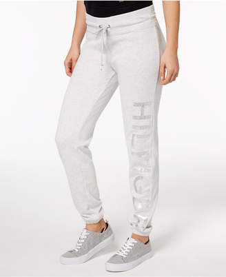 Tommy Hilfiger Logo-Print Sweatpants, Created for Macy's