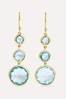 Ippolita Lollipop 18-karat Gold Topaz Earrings