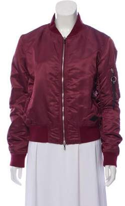 Rag & Bone Zip-Up Bomber Jacket