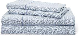 Ralph Lauren Spencer Basket-Weave Sheet Set