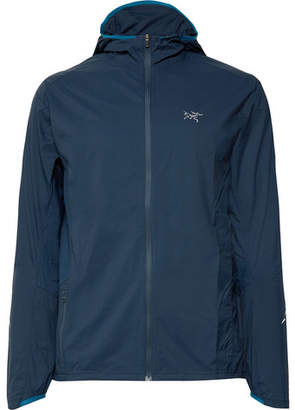Arc'teryx Incendo Mesh-Panelled Lumin Hooded Jacket