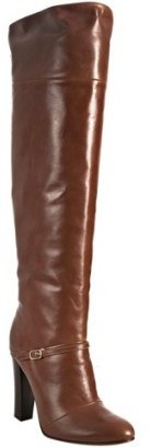 Candela brown leather 'Cloti' tall boots