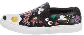 Anya Hindmarch Embellished Slip-On Sneakers