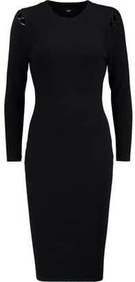 Line Ida Cutout Stretch-Knit Dress