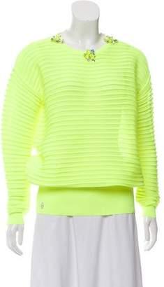Philipp Plein Embellished Crew Neck Sweater w/ Tags