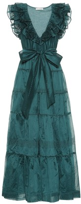 Ulla Johnson Severine cotton and silk organza gown