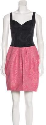Yoana Baraschi Pleated A-Line Dress