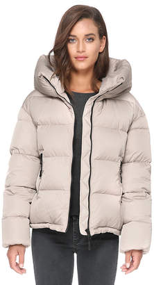 Soia & Kyo BRITTANY bomber-fit sporty down jacket with oversized hood