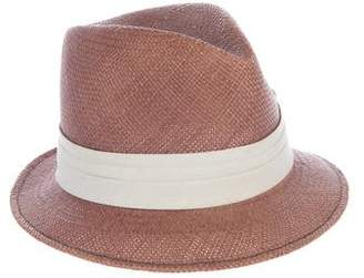 Marc Jacobs Woven Fedora Hat