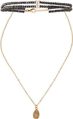 Fragments Semiprecious Choker & Pendant Necklace t7gjtGl