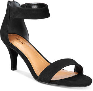 Style & Co Paycee Two-Piece Dress Sandals, Created for Macy's Women's Shoes $59.50 thestylecure.com