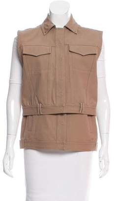 Alexander Wang Collared Layered Vest w/ Tags