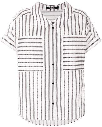Karl Lagerfeld Sails striped shirt