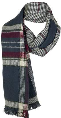 Barbour Reversible Plaid Wrap - Women's