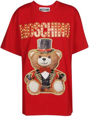 Moschino Circus Bear Printed T-shirt