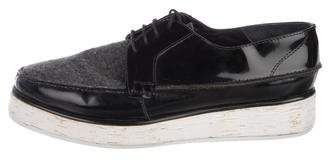 Rachel Comey Patent Leather Platform Oxfords