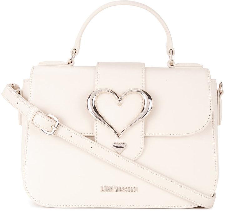 Love MoschinoLove Moschino love buckle satchel