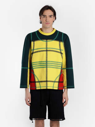 MEN'S MULTICOLOR PANELLED SWEATER