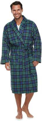 Chaps Men's Shawl-Collar Soft-Touch Robe