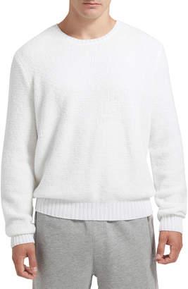 ATM Anthony Thomas Melillo Men's Chenille Crewneck Sweater