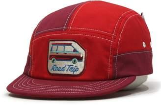 Camper Mokuyobi Vintage Style Brim Adjustable 5 Panel Hat Made in US Cap