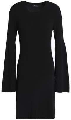 Theory Stretch-Knit Mini Dress