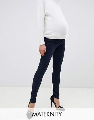 f1591dab32e0f Bandia Maternity over the bump skinny jean with removable bump band